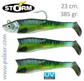 Giant Jigging Shad 23cm 385gr Wildeye Mackerel Storm
