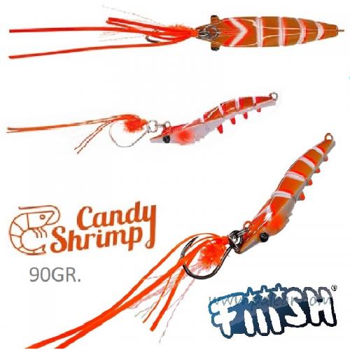 Candy Shrimp Orange Fight de Fiiish Leurres
