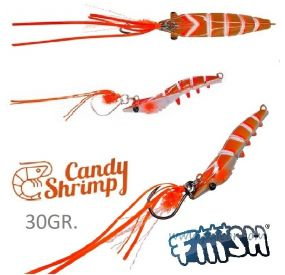 Candy Shrimp Orange Fight de Fiiish Leurres