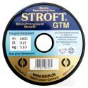 AZUL GRIS TRANSPARENTE 0.22MM GTM STROFT SILICOON PTFE TEMPERED MONOFILAMENTO 1000M
