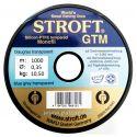 AZUL GRIS TRANSPARENTE 0.35MM GTM STROFT SILICON PTFE TEMPERED MONOFILAMENTO 1000M