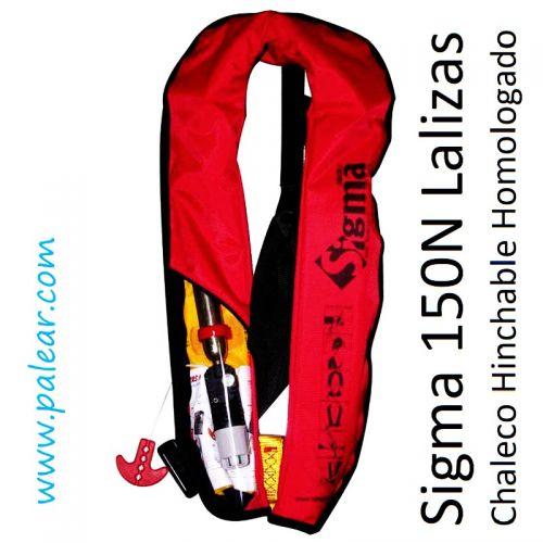 Sigma 150N Chaleco Hinchable Homologado Lalizas
