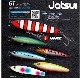 GT Minnow 150 mm 60gr Sea Slicker Jatsui