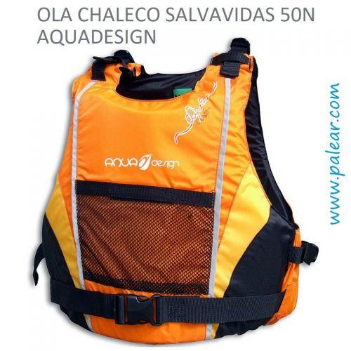 Ola Chaleco Salvavidas 50N Aquadesign