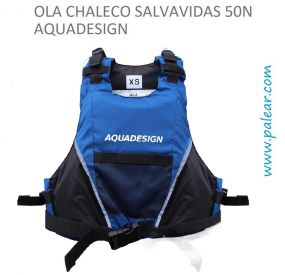 Ola Chaleco Salvavidas 50N Aquadesign Azul