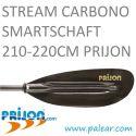 Pala kayak Stream Carbono Smartschaft 210-220cm Prijon