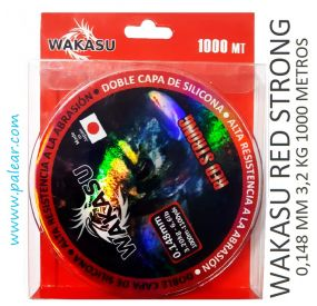 0.148 mm 3,2 kg Wakasu Red Strong 1000 m