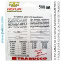 0,255 mm 8,36 kg 500m Monofilamento T-Force Super Iso Special Salt Water Trabucco