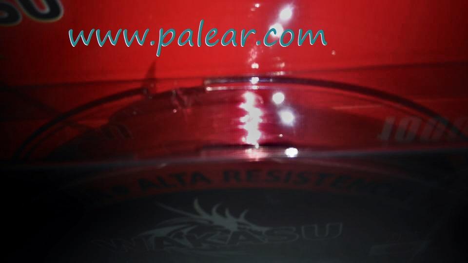 Bobina red strong wakasu hilo rojo doble capa silicona